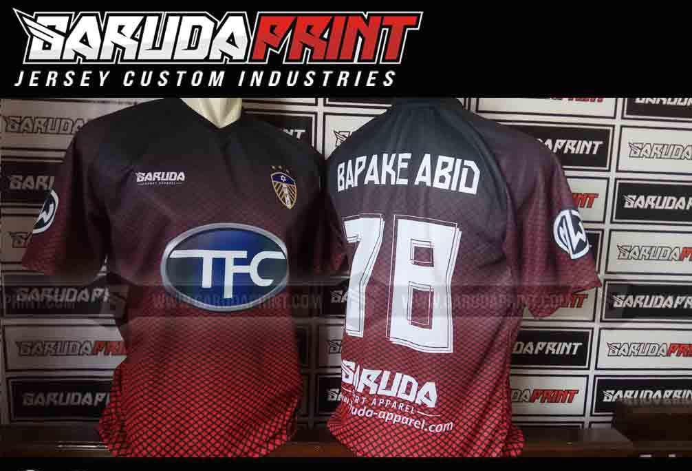 Melayani Pembuatan Kaos Futsal printing