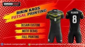 Alamat Bikin Baju Futsal Bagus dan Terpercaya
