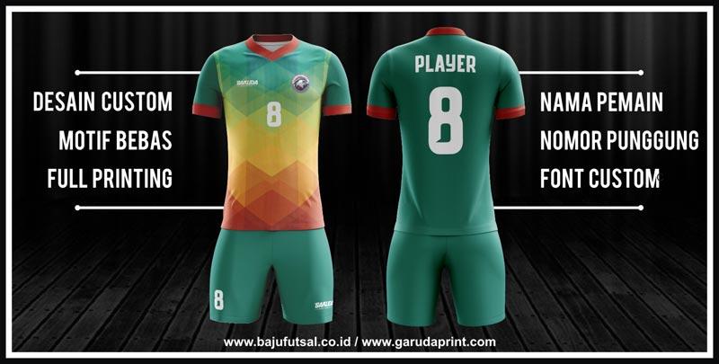 BIKIN Desain Jersey Futsal yang Bagus Untuk Team