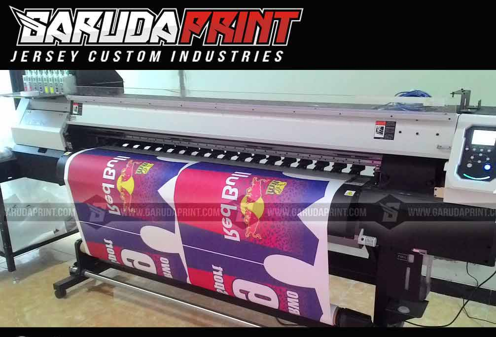 Bikin Baju Futsal Teknik Digital Printing