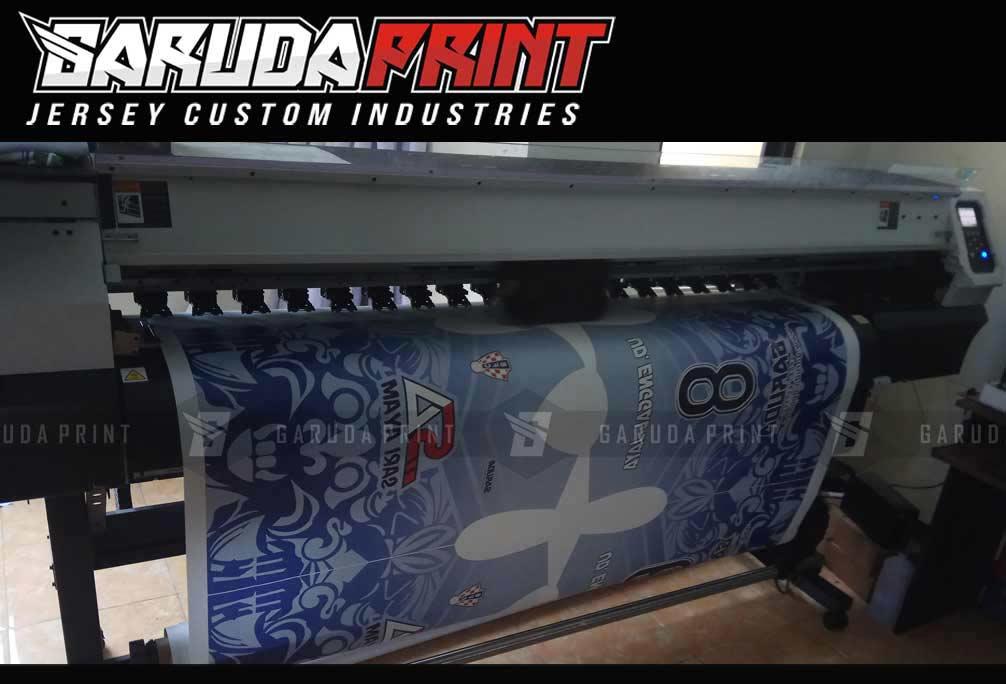 Bikin Kaos Futsal Desain Sendiri Menggunakan Mesin Printing