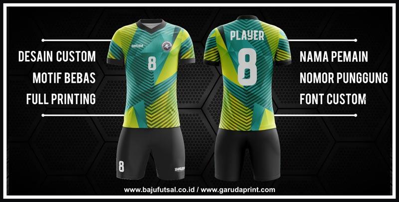 Bikin Kaos Futsal Desain Sendiri printing