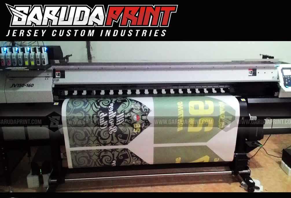 Bikin Kaos Futsal Full Print dengan Mesin Digital Printing