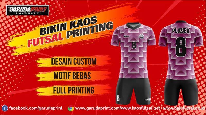 Bikin Kaos Futsal Murah Hanya di Garuda Print