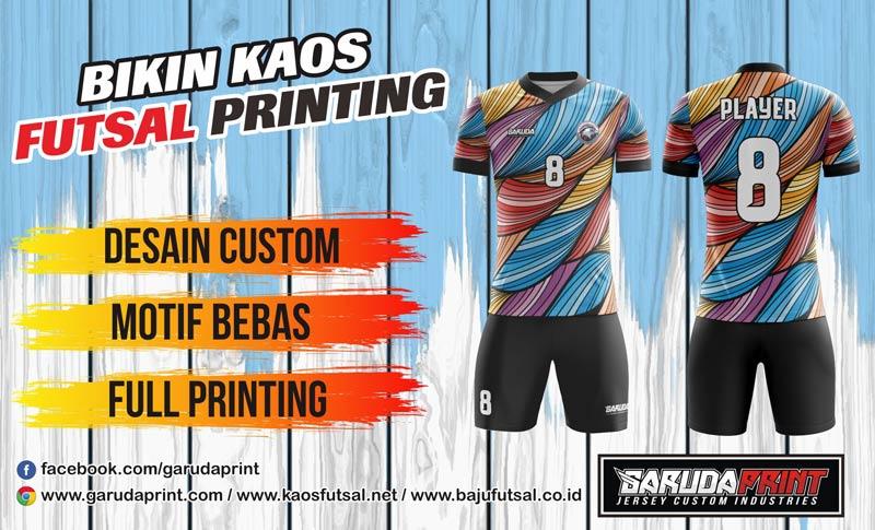 Bikin Kaos Team Futsal Termurah