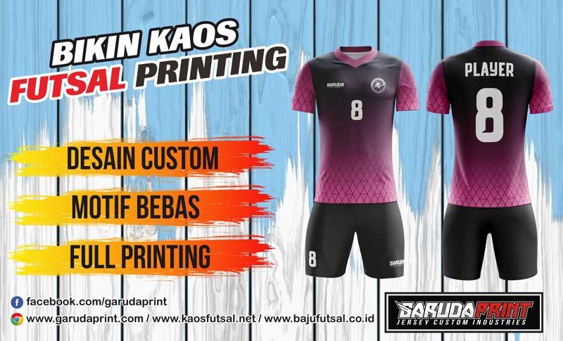 Bikin Kostum Futsal Murah Dengan Mesin Digital Printing