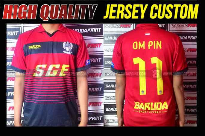 Bikin Kostum Futsal Murah Printing