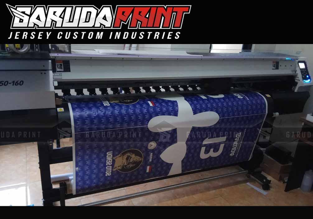 Bikin Seragam Futsal Full Print Dengan Teknik Printing