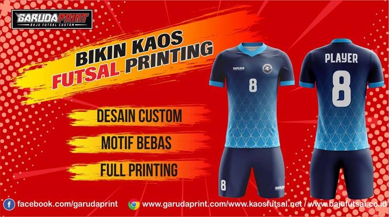Buat Seragam Futsal Printing Terbaik