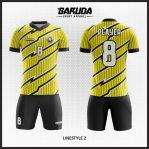 Konsep Kombinasi Warna Desain Baju Bola Elegan