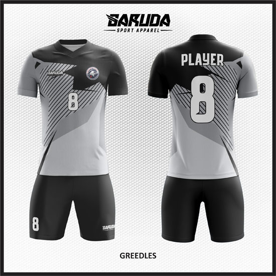 Desain baju futsal Terbaru garuda print