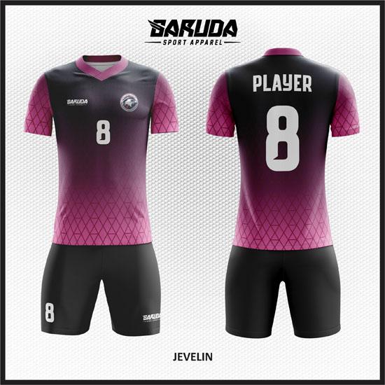 Desain jersey full printing yang bisa memakai gradasi warna.