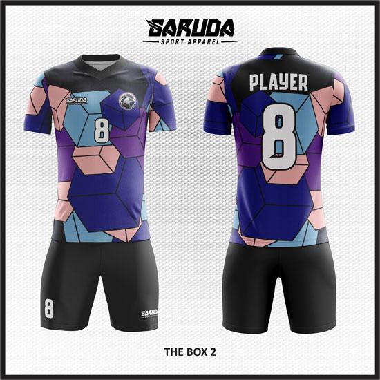 Gambar Desain Baju Bola unik