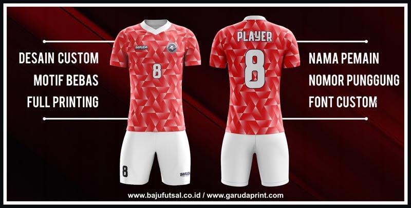 Garuda Print Menyediakan Desain Kostum Futsal Yang Bervariasi