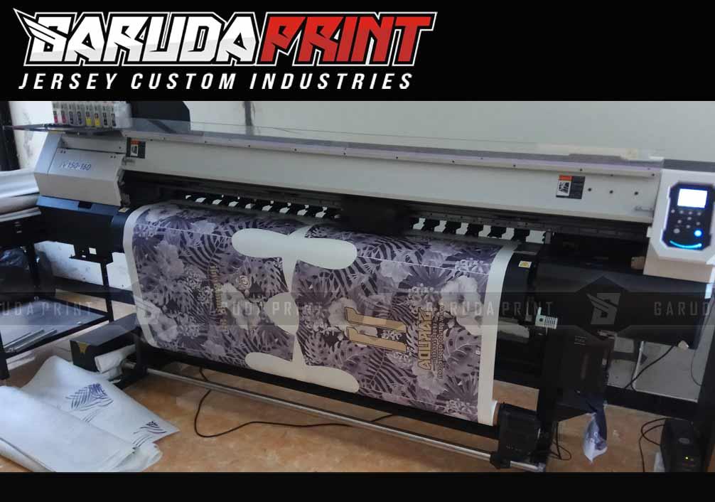 Jasa Pembuatan Seragam Futsal printing