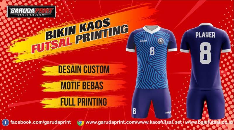 Konveksi Kostum Futsal Full Print