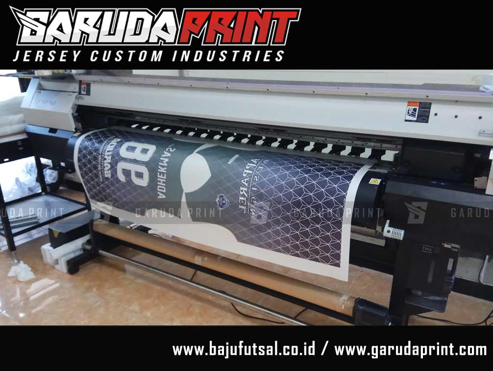 Konveksi buat baju futsal printing