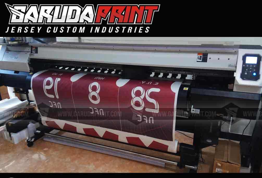 Konveksi kaos futsal printing berkualitas dengan desain bebas.
