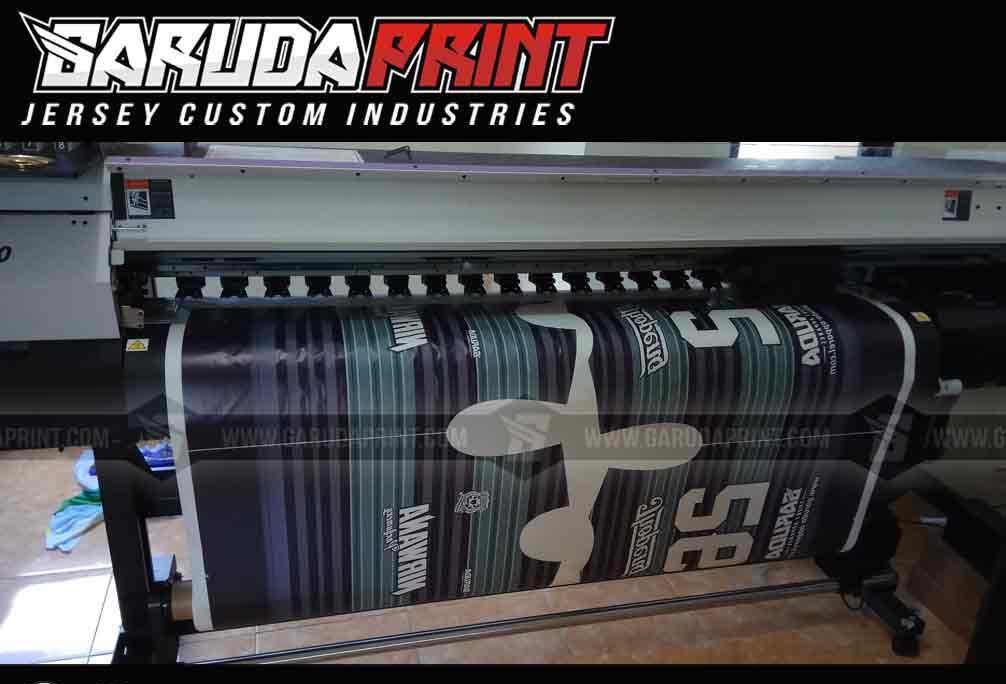 Membuat Baju Bola Sendiri printing