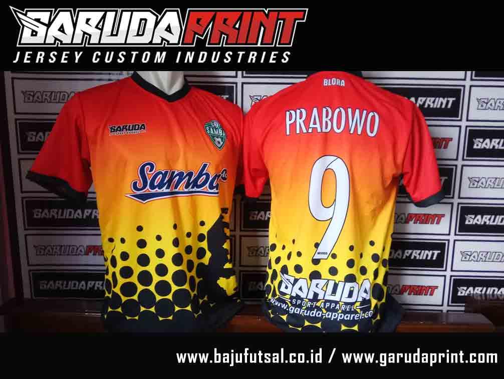 PEMBUATAN Desain Kaos Futsal Online PRINTING GRADASI
