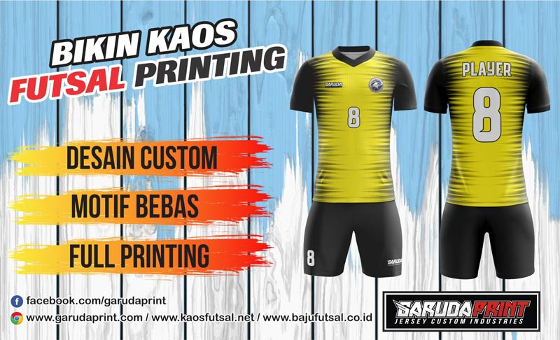 Pembuatan Baju Futsal Terbaik Indonesia