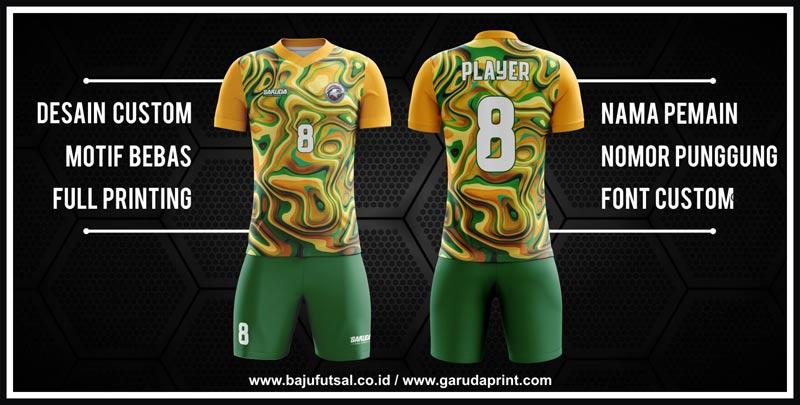 Pembuatan Desain Kaos Futsal