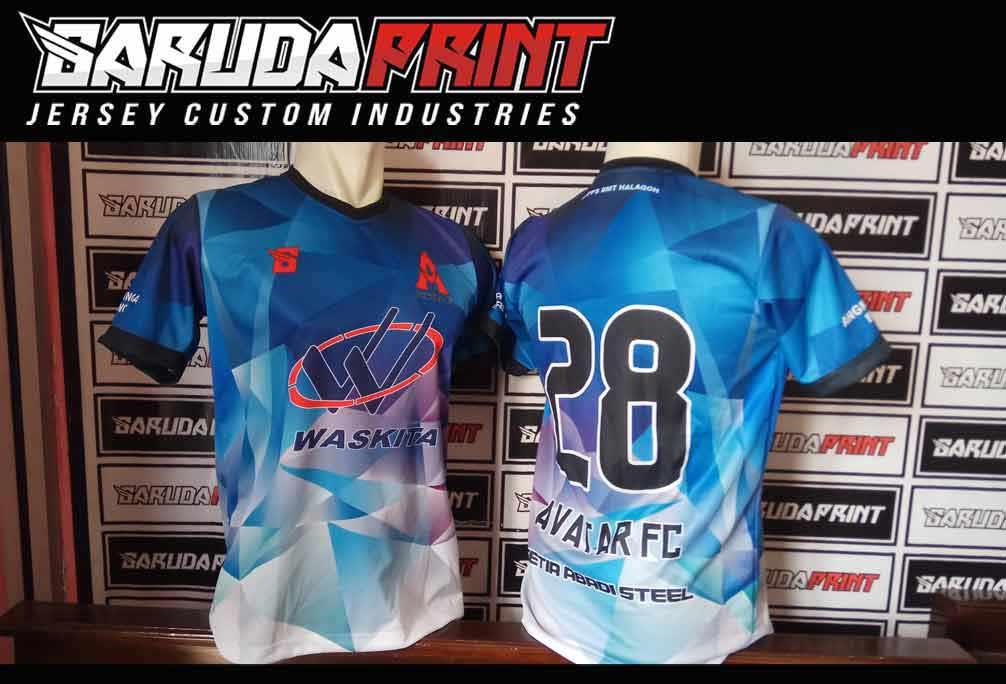 Pembuatan Kaos team Futsal