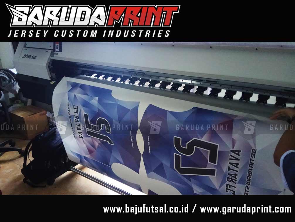 Pesan baju futsal pakai kerah semua atau tanpa kerah printing