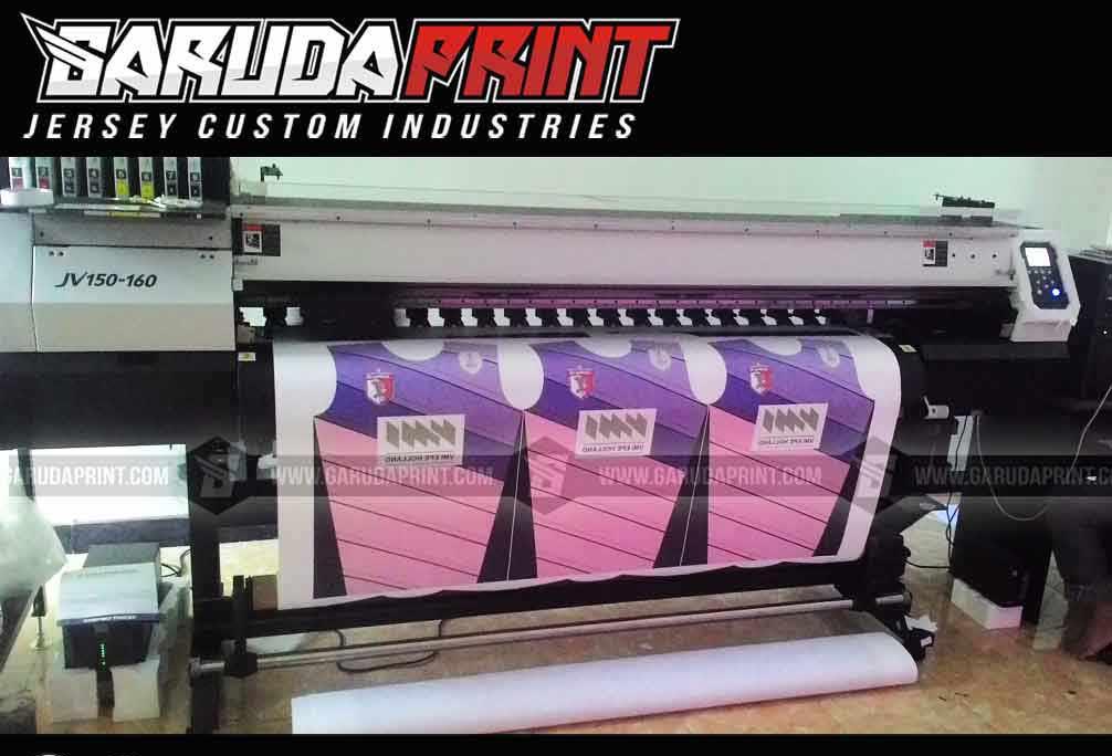 Proses pembuatan baju futsal printing di garuda print