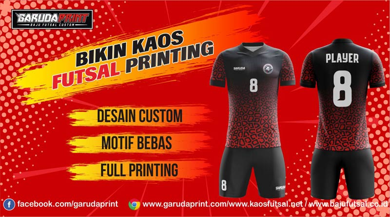 Tempat Bikin Baju Futsal Murah
