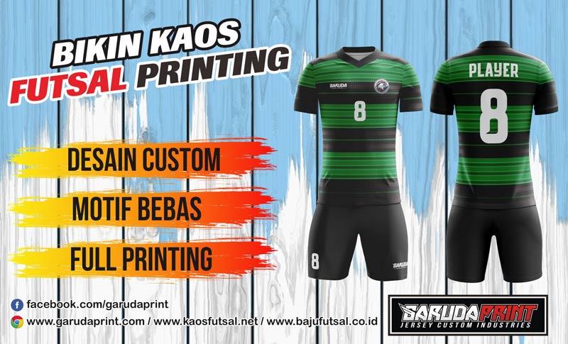 Tempat Bikin Seragam Futsal Printing Terbaik haraga murah