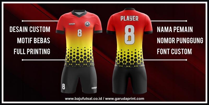 Tempat Bikin seragam Futsal Printing Online