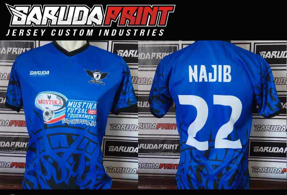Tempat Buat Kostum Futsal Printing desain sendiri