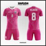 Tempat Pembuatan Desain Baju Futsal Pink