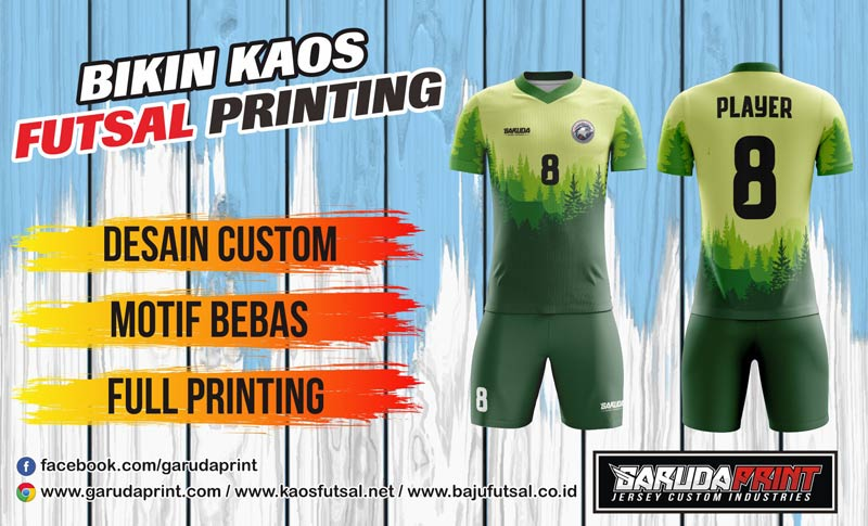 Tempat Terbaik Bikin Kaos Futsal Online