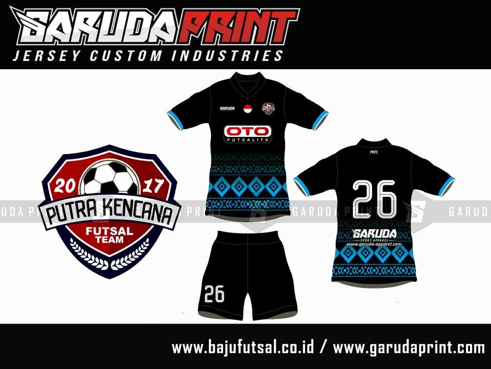 baju futsal bendera Indonesia
