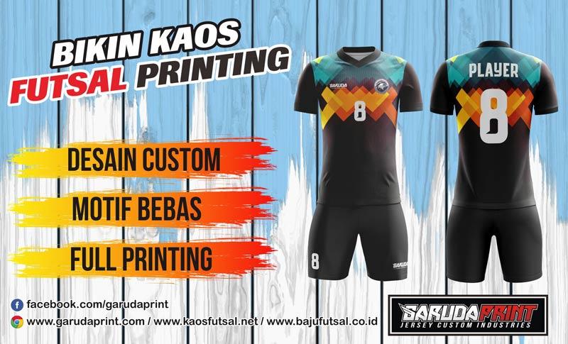 bikin Desain Kaos Futsal Paling Keren
