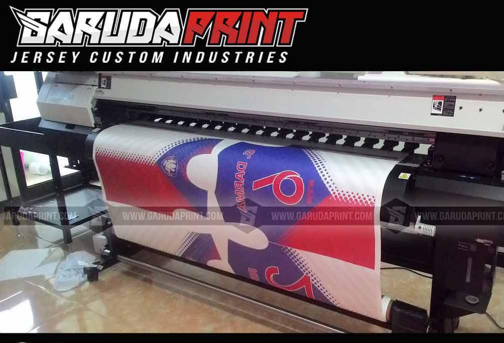 bikin baju bola printing