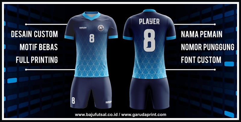 bikin baju sepak bola custom