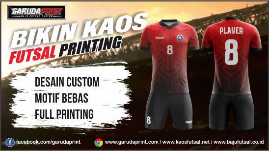 bikin gambar Desain Baju Bola printing
