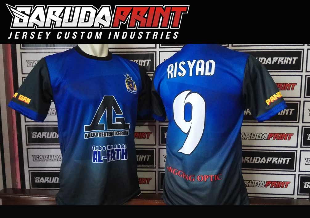 cara membuat baju futsal printing online