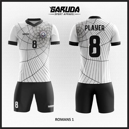 desain Baju Futsal Online putih
