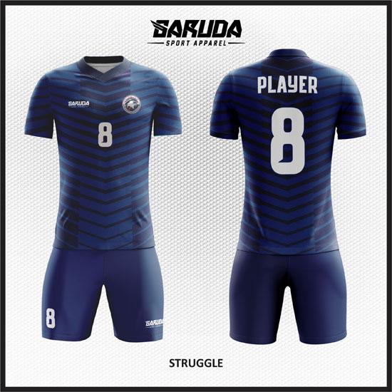 desain baju futsal biru i terbaik