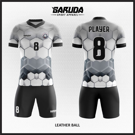desain baju futsal keren putih