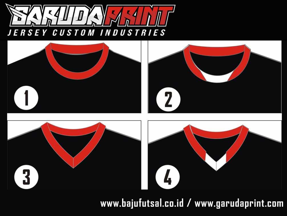 desain baju futsal tanpa kerah