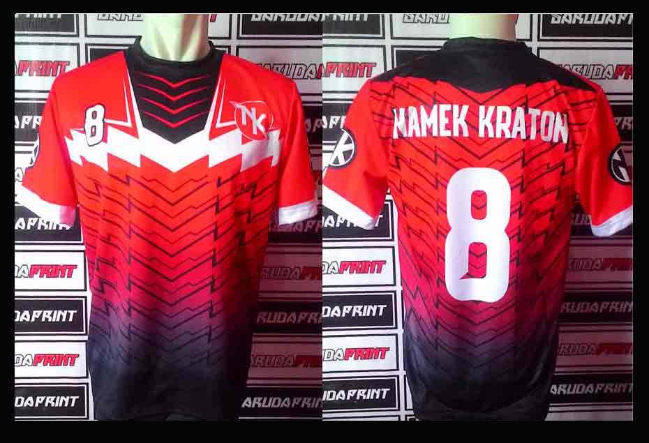 jasa Bikin Baju Futsal Bahan Drifit printing