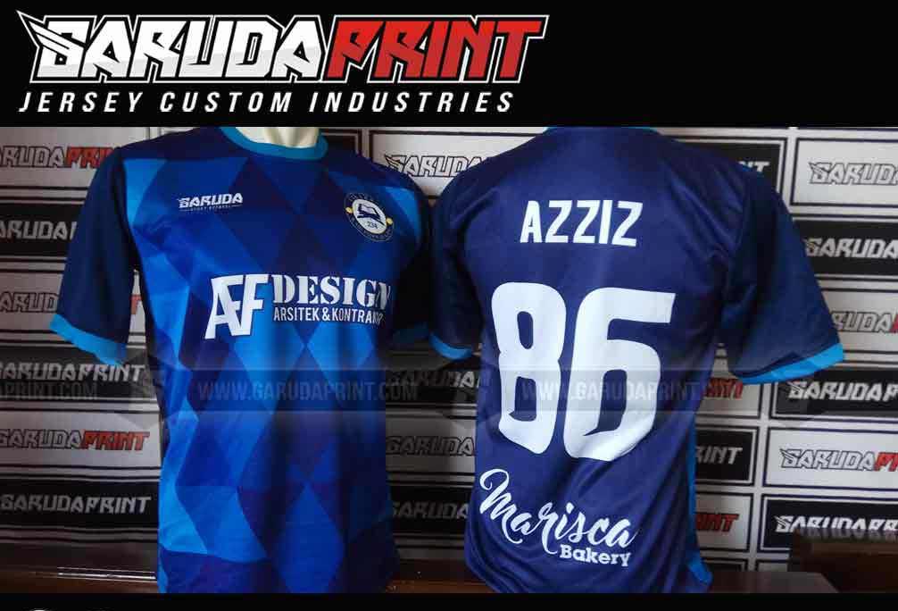 jasa Bikin Baju Team Futsal Desain Terbaik