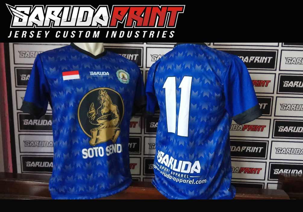 jasa Bikin Seragam Futsal Full Print Dengan Teknik Printing Sublimasi