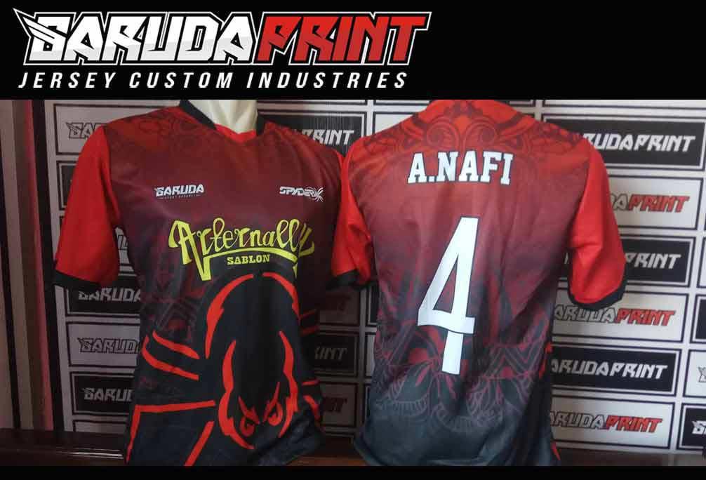 jasa pembuatan Desain Kaos Olahraga Futsal printing