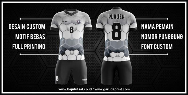 pembuat kostum futsal printing desain sendiri